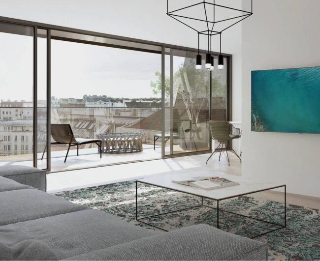Wohnprojekt der WINEGG Realitäten in 1060 Wien