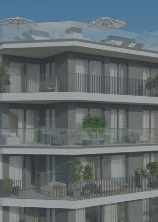 Neubauprojekt-WINEGG-Palma-Mallorca-Eigentumswohnungen-Strassenansicht