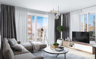 WINEGG-Neubauprojekt-Mallorca-Palma-Eigentumswohnungen-Wohnzimmer