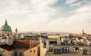 Ausblick Dachgeschoß Wohllebengasse 6 Wien