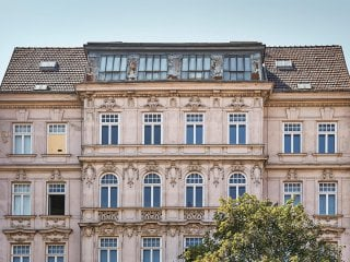 Außenfassade Schönbrunnerstraße